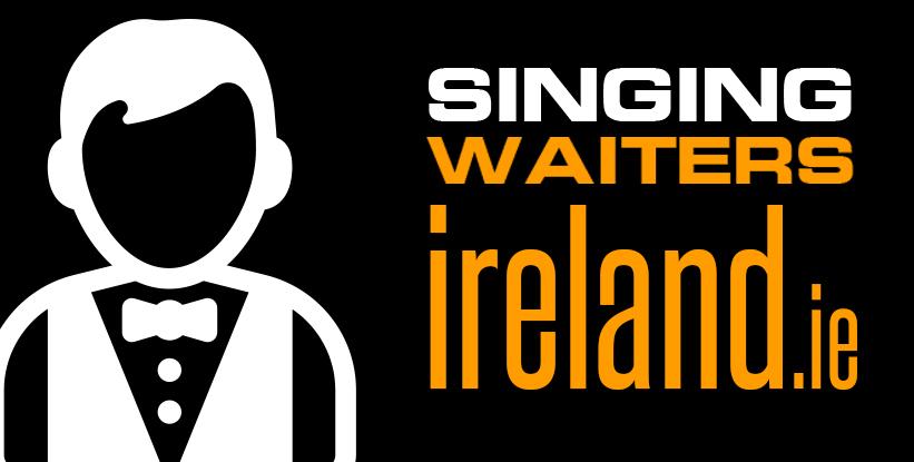 Irish Singing Waiters with Budget Wedding Bands